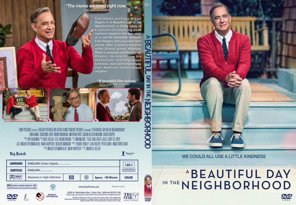 A Beautiful Day In The Neighborhood 2019 R1 Custom Slim Dvd Cover Dvdcover Com