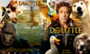Dolittle (2020) R0 Custom DVD Cover