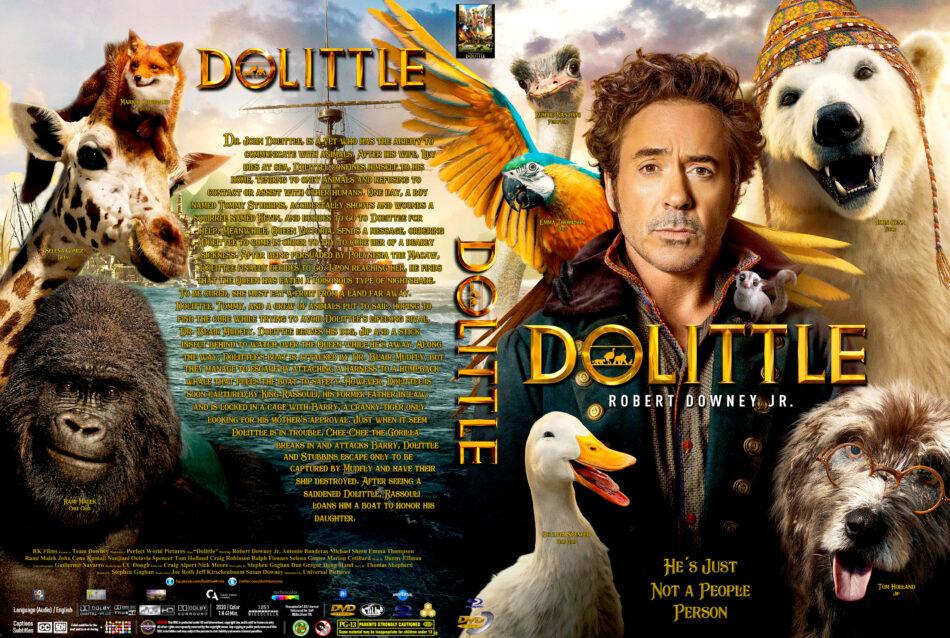 Dolittle 2020 R0 Custom Dvd Cover Dvdcover Com