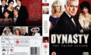 DYNASTY (1982) SEASON THREE R2 DVD COVER AND LABELS