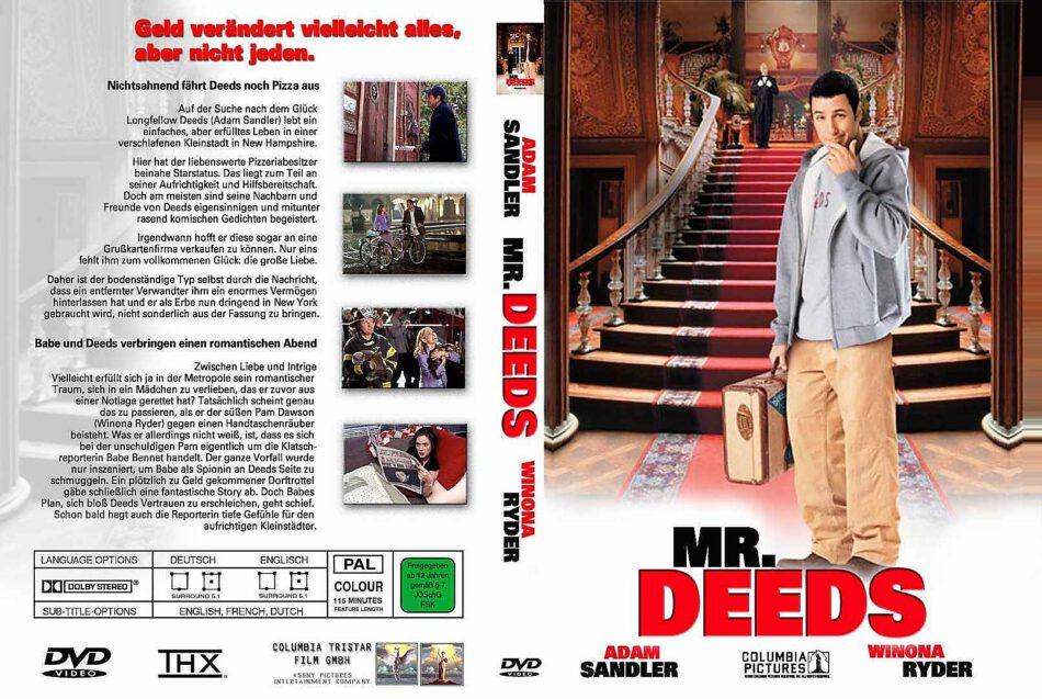 Mr Deeds 2002 R2 German Dvd Cover Dvdcover Com