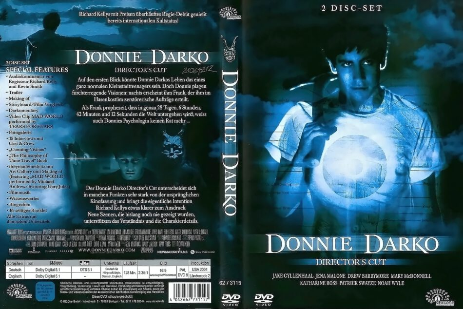 Donnie darko-Director's Cut (2001) R2 German DVD Cover - DVDcover.Com