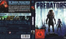 Predators (Neuauflage) (2018) German Blu-Ray Covers & label