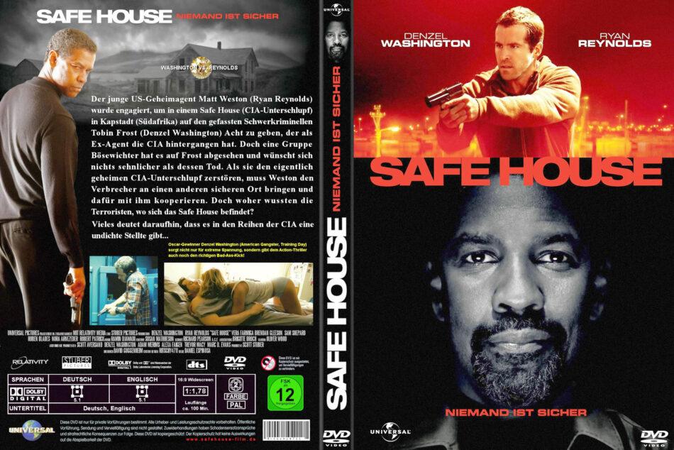 Safe House 2012 R2 German Dvd Cover Dvdcover Com