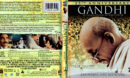 GANDHI (1982) 25TH ANNIVERSARY EDITION BLURAY COVER and LABELS