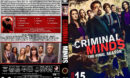 Criminal Minds - Season 15 (2020) R1 Custom DVD Cover & Labels