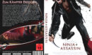 Ninja Assassin (2009) R2 German Custom DVD Cover