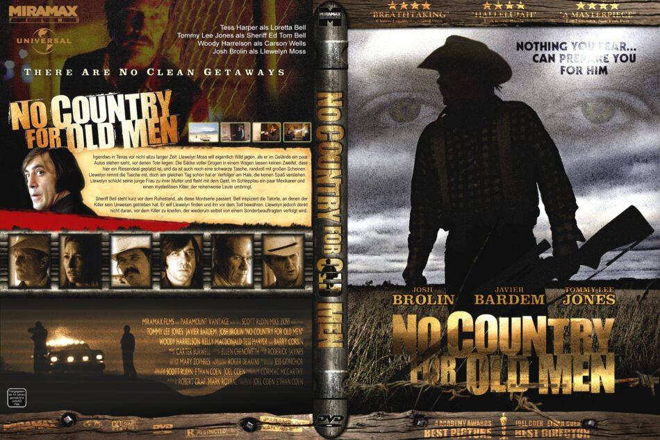 No Country For Old Men 2007 R2 German Dvd Covers Dvdcover Com