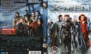X-Men 3 (2006) R2 German DVD Cover & Label