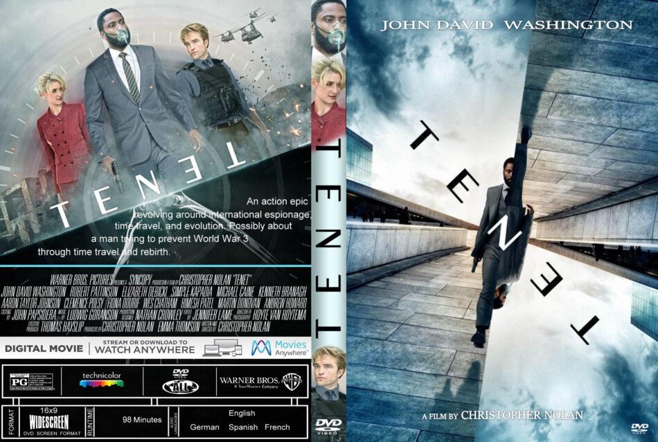 Tenet 2020 R0 Custom Dvd Cover Label Dvdcover Com