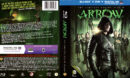 ARROW (2013) SEASON TWO BLURAY/DVD COVER and LABELS