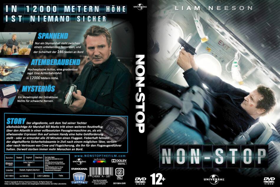 Non Stop 2014 R2 German Custom Dvd Cover Dvdcover Com
