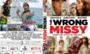 The Wrong Missy (2020) R0 Custom DVD Cover & Label