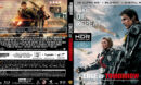 Edge of Tomorrow (2014) R1 Custom 4K UHD Blu-Ray Cover & Label