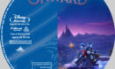 Onward (2020) R1 Custom Blu-Ray label