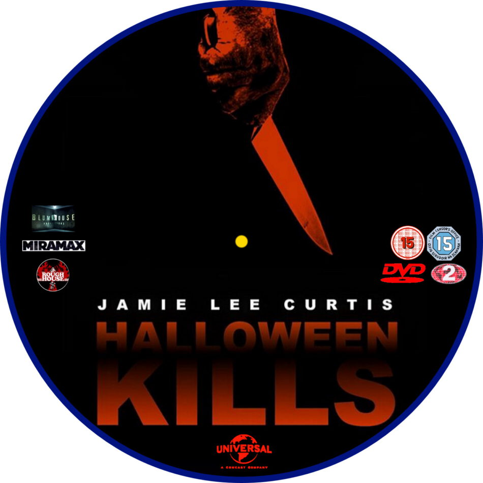 Halloween 2020 Dvd Halloween Kills (2020) R2 Custom DVD Label   DVDcover.Com