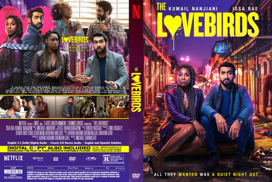 The Lovebirds 2020 R0 Custom Dvd Cover Dvdcover Com