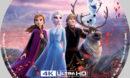 Frozen II (2019) R1 Custom 4K Blu-Ray Label