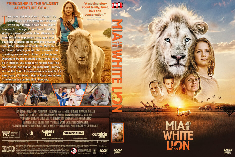 Mia And The White Lion 2018 R1 Custom Dvd Cover Label Dvdcover Com