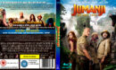 JUMANJI THE NEXT LEVEL (2019) R0 CUSTOM BLU-RAY COVER & LABEL
