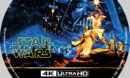 Star Wars: A New Hope (1977) R1 Custom 4K Blu-Ray Label