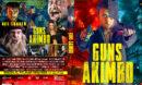 Guns Akimbo (2020) R0 Custom DVD Cover