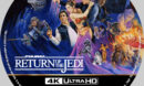 Star Wars: Return of the Jedi (1983) R1 Custom 4K Blu-Ray Label