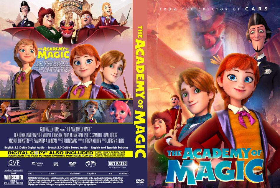 The Academy of Magic (2020) R1 Custom DVD Cover - DVDcover.Com