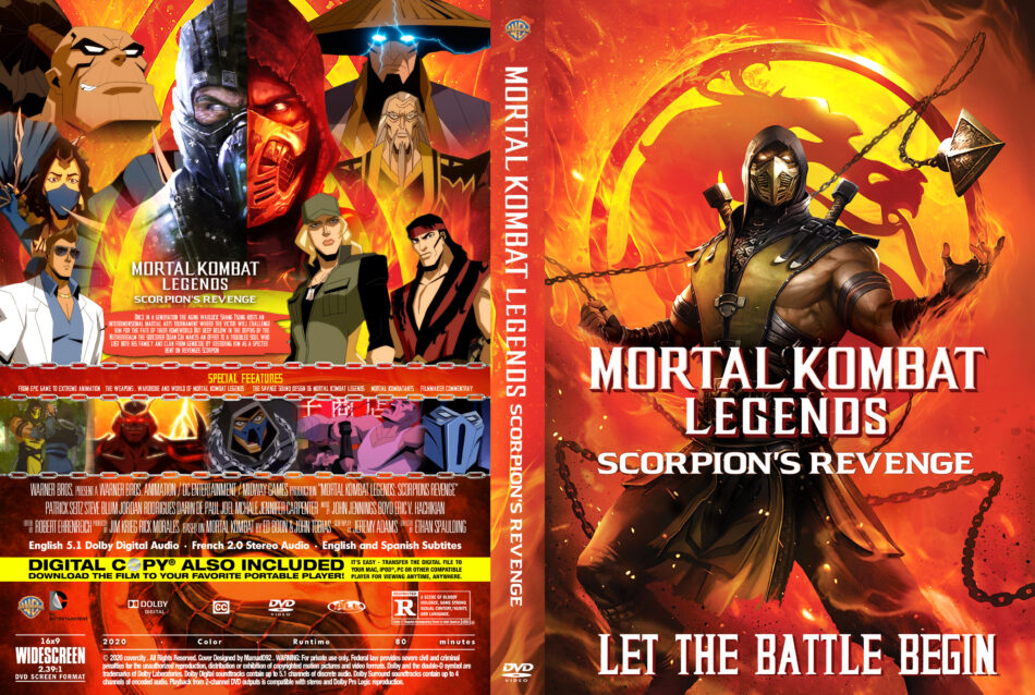 mortal kombat legends scorpions revenge movie