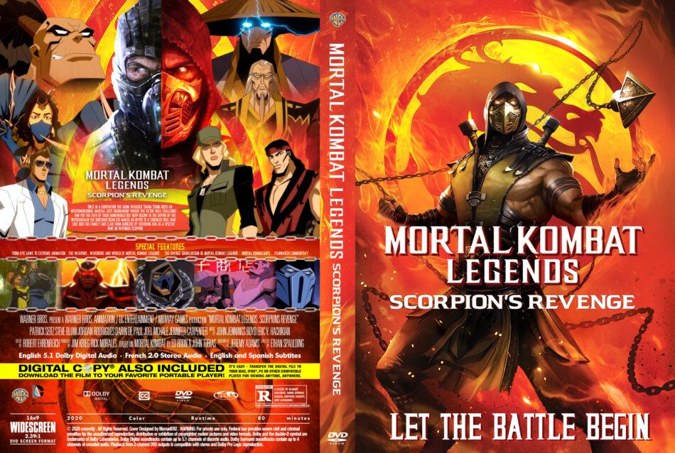Mortal Kombat Legends Scorpion S Revenge 2020 R0 Custom Dvd
