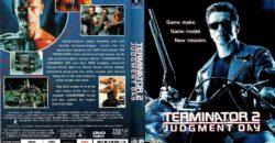 Terminator 2 Judgement Day 1991 R4 Dvd Cover Dvdcover Com