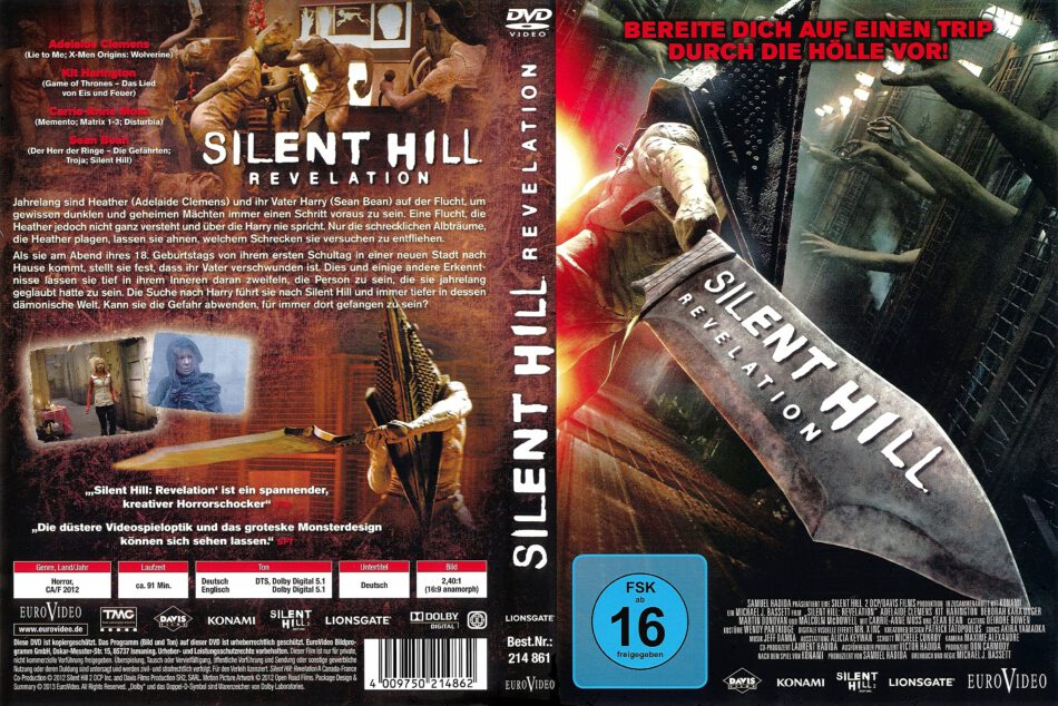 Silent Hill 2 Revelation 2013 R2 German Dvd Cover Dvdcover Com