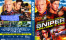 Sniper: Assassin's End (2020) R1 Custom DVD Cover & Label