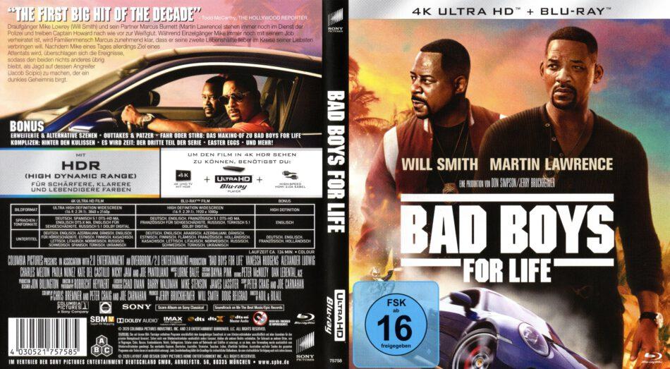 Bad Boys For Life 2020 4k Uhd German Cover Dvdcover Com