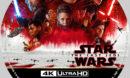 Star Wars: The Last Jedi (2017) R1 Custom 4K Blu-Ray Label