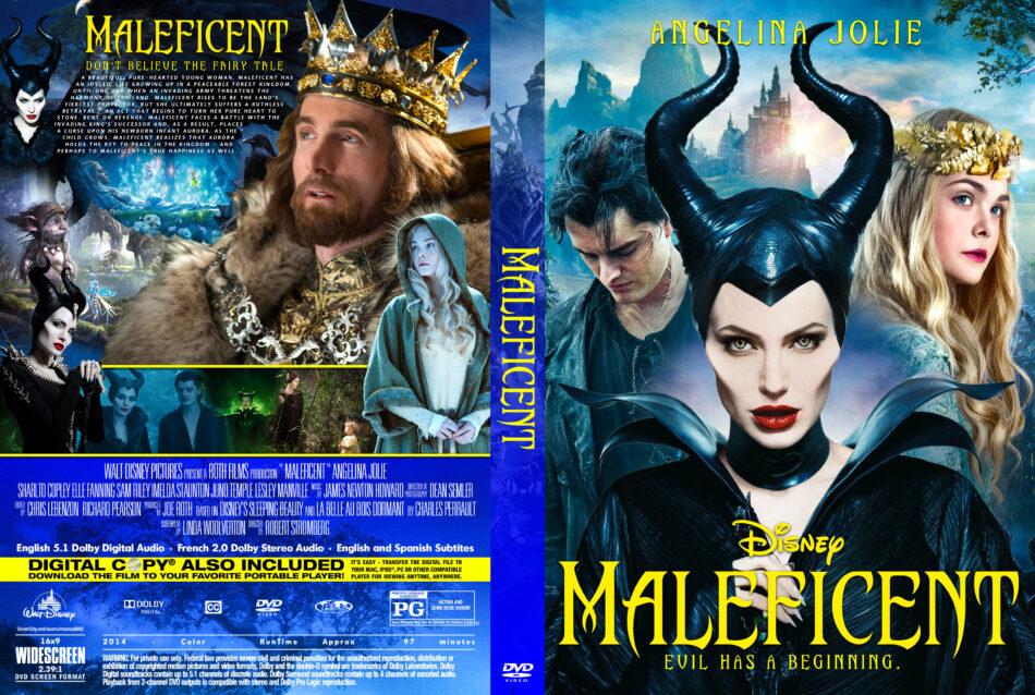 Maleficent 2014 R0 Custom Dvd Cover Dvdcover Com