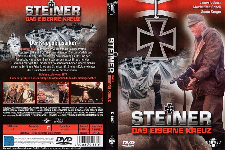Steiner Das Eiserne Kreuz R2 German Dvd Cover Dvdcover Com