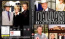 DALLAS (1986-2004) MOVIE COLLECTION R2 DVD COVER & LABELS