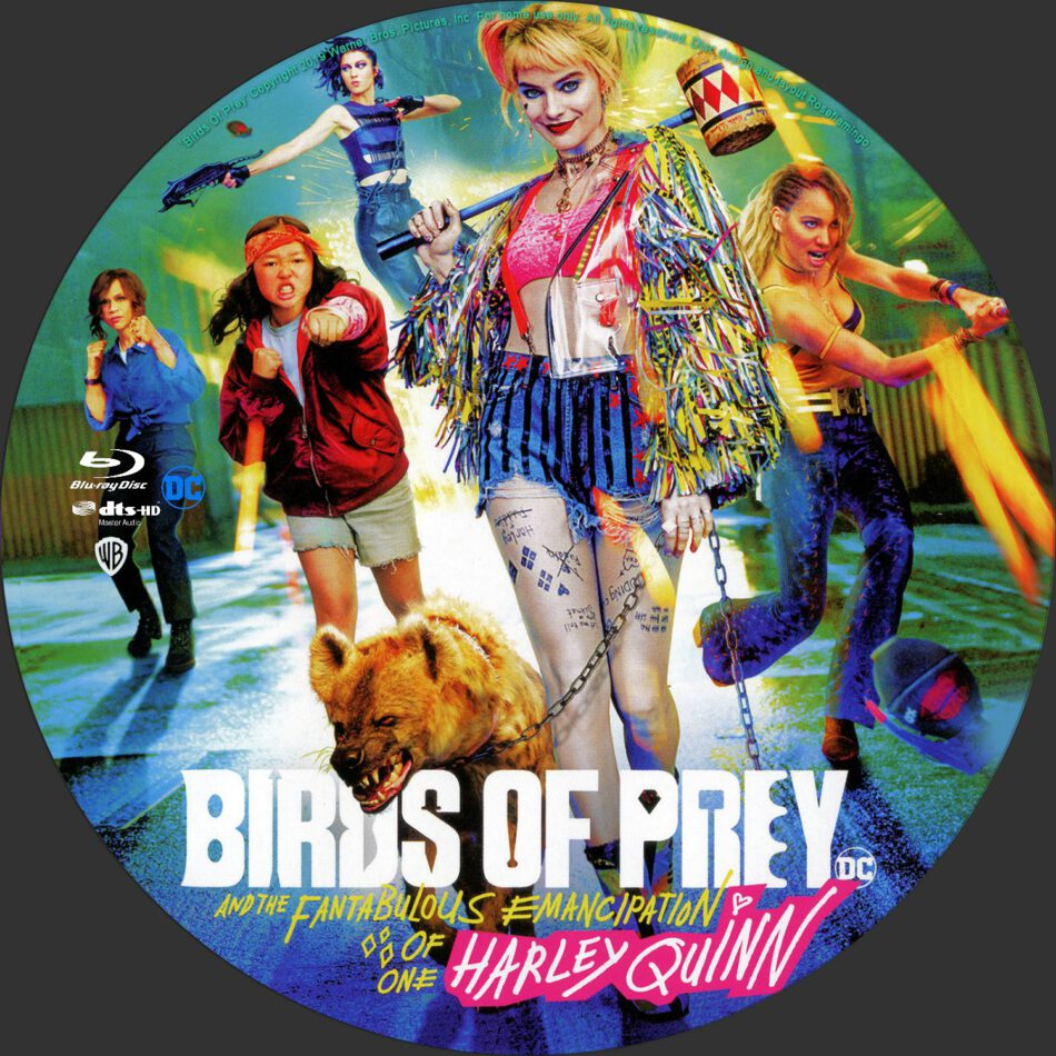 Birds Of Prey Harley Quinn Custom Blu Ray Label Dvdcover Com