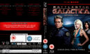 BATTLESTAR GALACTICA (2005-2006) SEASON TWO R2 BLU-RAY COVER & LABELS