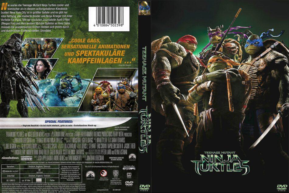 Teenage Mutant Ninja Turtles 2014 R2 German Dvd Cover Dvdcover Com