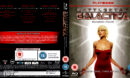BATTLESTAR GALACTICA (2008) SEASON FOUR BLU-RAY COVER & LABELS