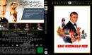 James Bond 007 - Sag niemals nie (1983) DE Custom Blu-Ray Cover