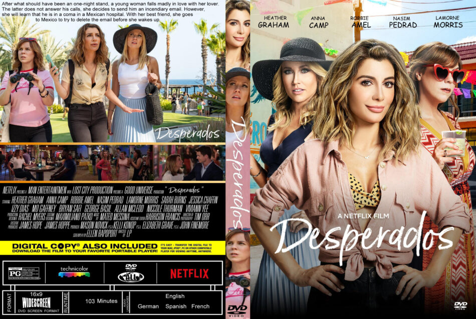 Desperados 2020 R1 Custom Dvd Cover Label Dvdcover Com