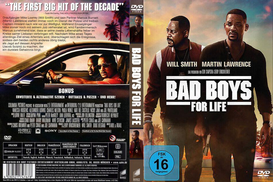 Bad Boys For Life 2020 R2 De Dvd Cover Dvdcover Com