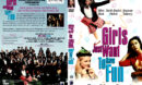 GIRLS JUST WANT TO HAVE FUN (1984) DVD COVER & LABEL