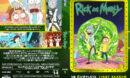Rick and Morty - season 1 (2013-14) R0 Custom DVD Cover & Label