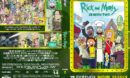 Rick and Morty - season 2 (2015) R0 Custom DVD Cover & Label