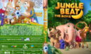 Jungle Beat: The Movie (2020) R0 Custom DVD Cover & Label