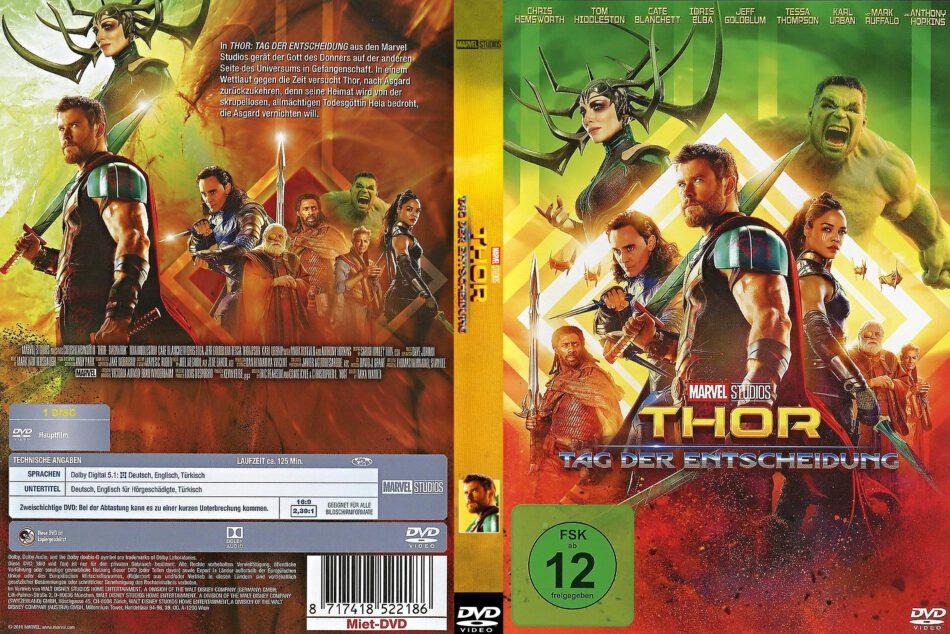 Thor 3 Tag Der Entscheidung 2018 R2 De Dvd Cover Dvdcover Com